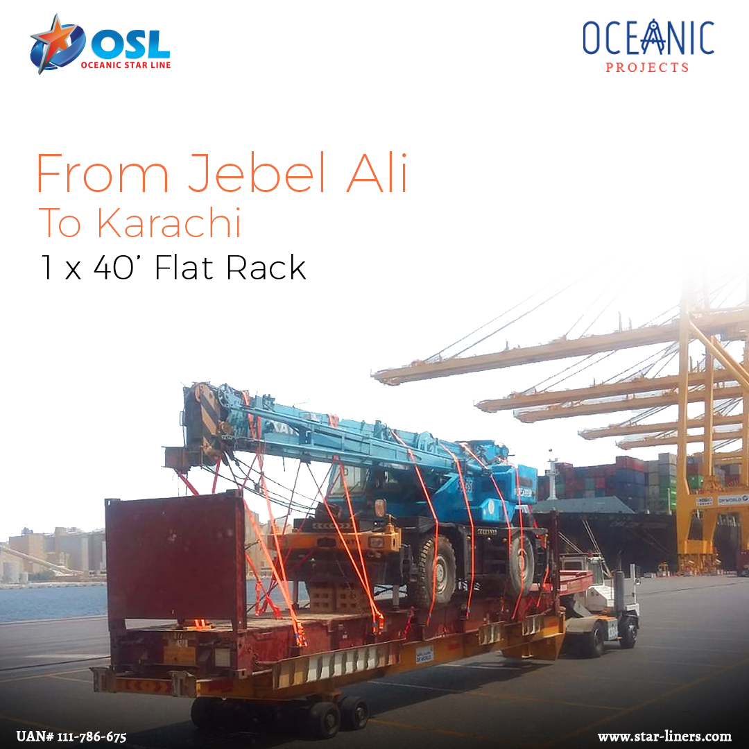 Jebel Ali to Karachi