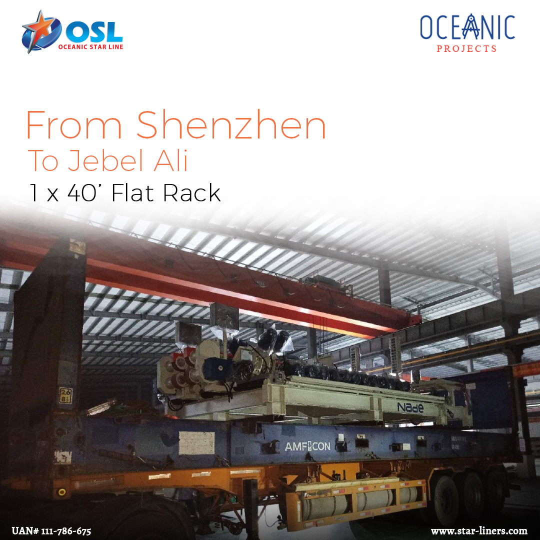 shenzen to jebel ali 1-40FR
