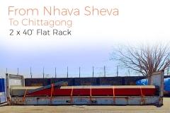 Nhava Sheva to chittagong 2