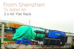 Shenzhen to Jebel Ali