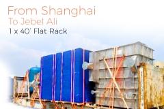 shanghai to JBA